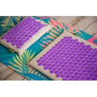 Набор массажный коврик DeviMat + подушка DeviPillow