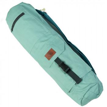 Хлопковая сумка для коврика Сутра мятная