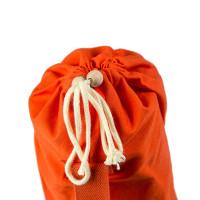 Хлопковая сумка для коврика Сутра оранжевая