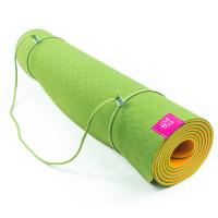Коврик для йоги ТПЕ Апельсин