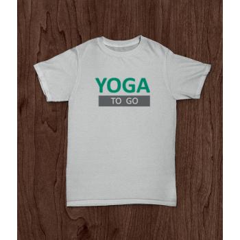"""Футболка """"Yoga to Go"""""""
